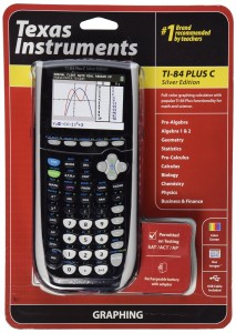 10. Texas Instruments TI-84 plus C Silver Edition Graphing Calculator