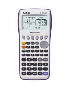 5.Casio fx-9750GII Graphing Calculator, White