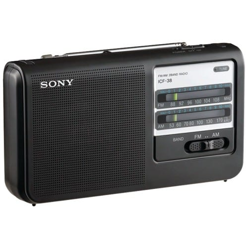 1.List 10 Best Portable Radios Reviews in 2016